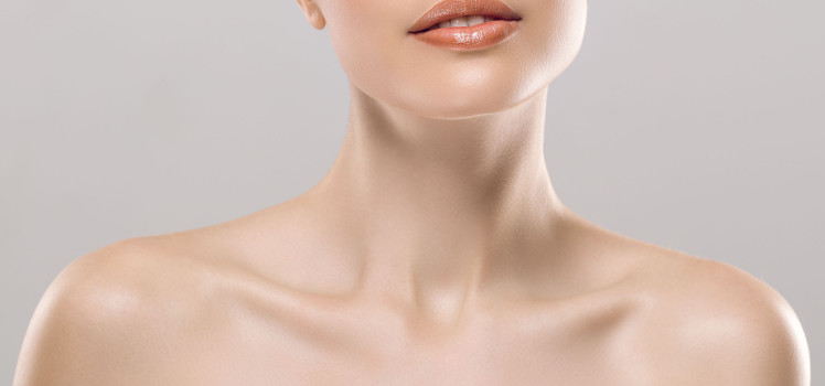 chin and neck