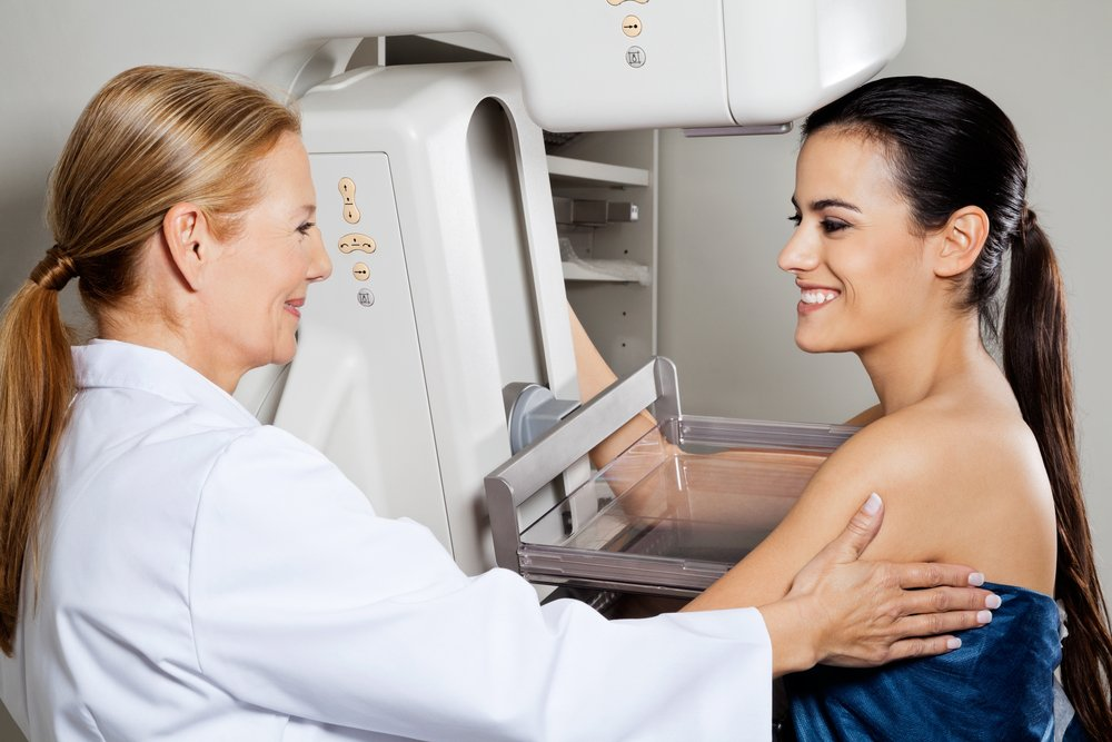 breast implant mammogram