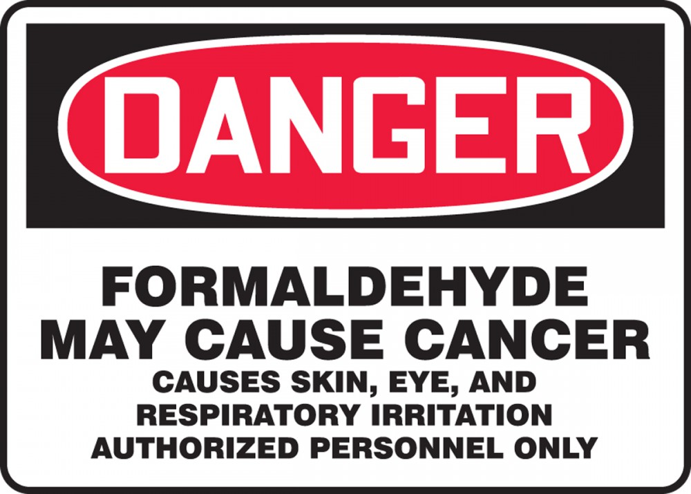 formaldehyde in skin care products