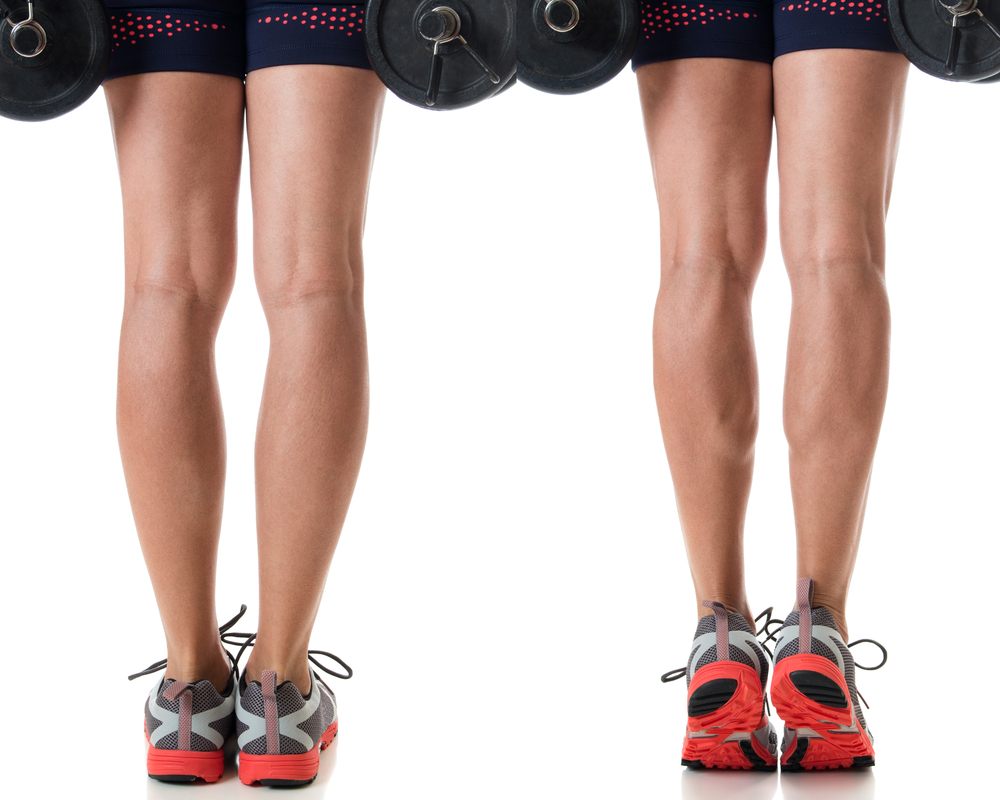 how to get bigger calves and ankles at home