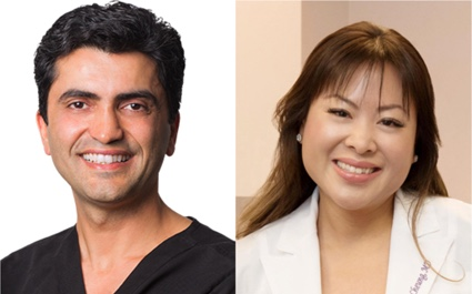 Drs. Babak Azizzadeh and Jessie Cheung