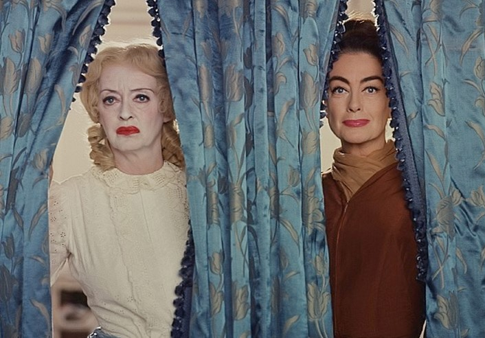 Bette Davis and Joan Crawford in 'What Ever Happened to Baby Jane?'