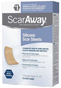Scar Away Silicone Scar Treatment Sheets