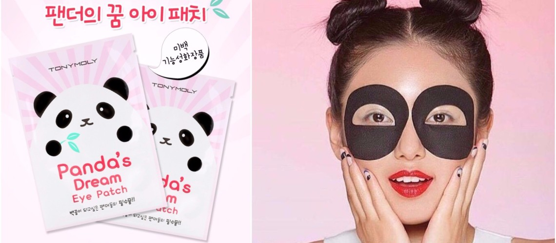 panda eye patch