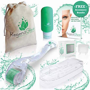 RegenaGlow Derma Roller for Face and body