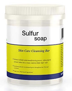 Sulfur Soap Skin Care Cleansing Bar