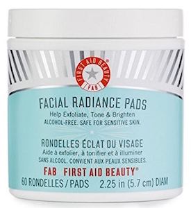 FAB First Aid Beauty Facial Radiance Pads - Pack of 60