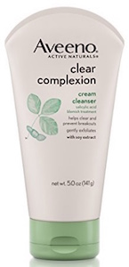 Aveeno Clear Complexion Cream Facial Cleanser