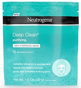 Neutrogena Deep Clean Purifying Hydrating Hydrogel Mask