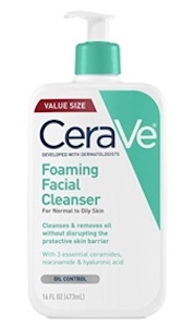 CeraVe Foaming Facial Cleanser for Oily Skin