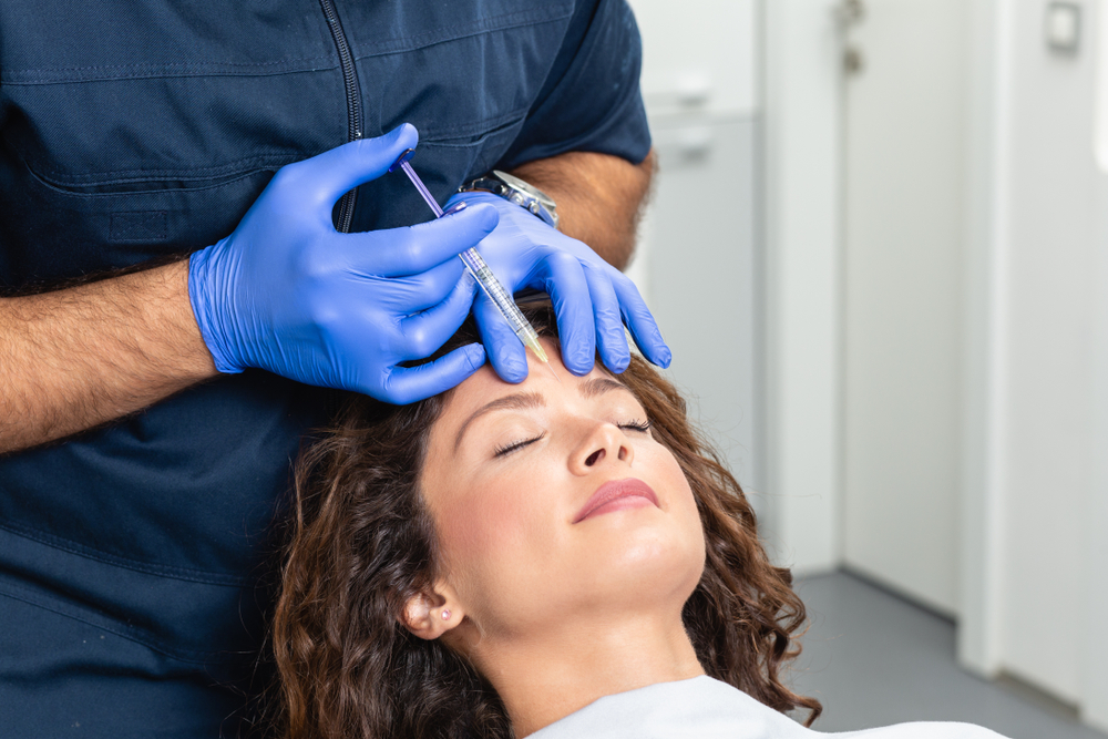 Botox for Forehead Wrinkles: Injection Sites, Side Effects