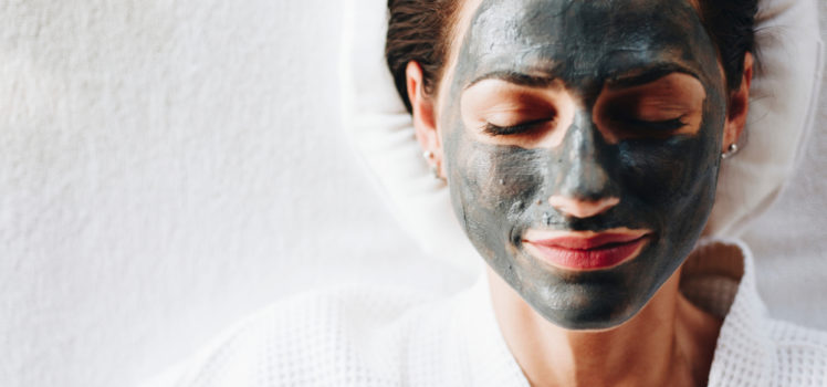 Peel off charcoal masks