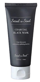 Seoul to Soul Charcoal Black Mask