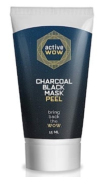 Active Wow Charcoal Black Mask Peel