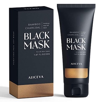 Aliceva Bamboo Charcoal Black Mask