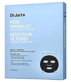 Dr. Jart Pore Minimalist Black Charcoal Sheet Mask
